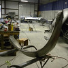 outer wheelhouse being preped for install